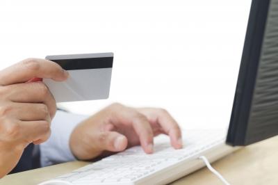 網上商店使用信用卡