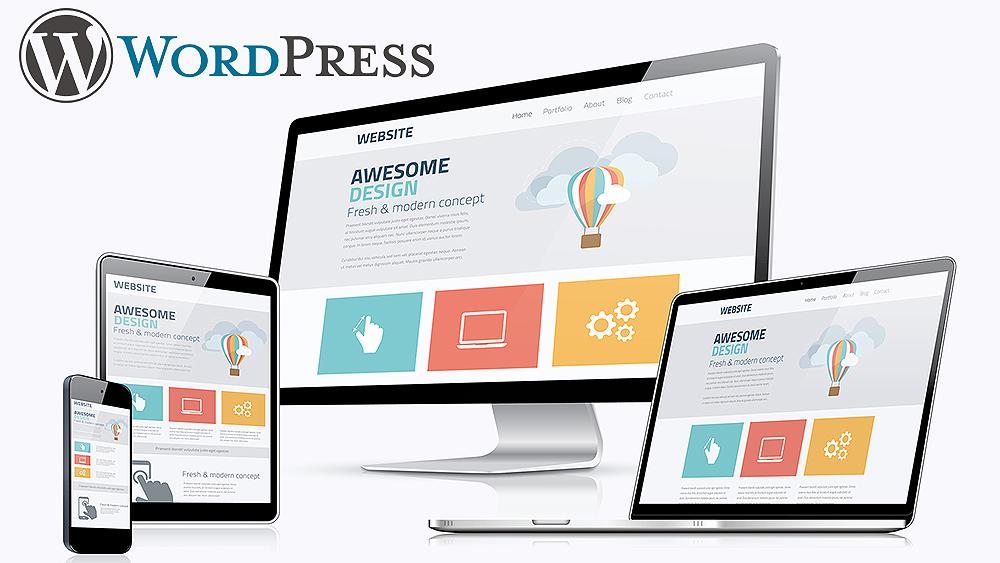 WordPress 網站設計網上商店